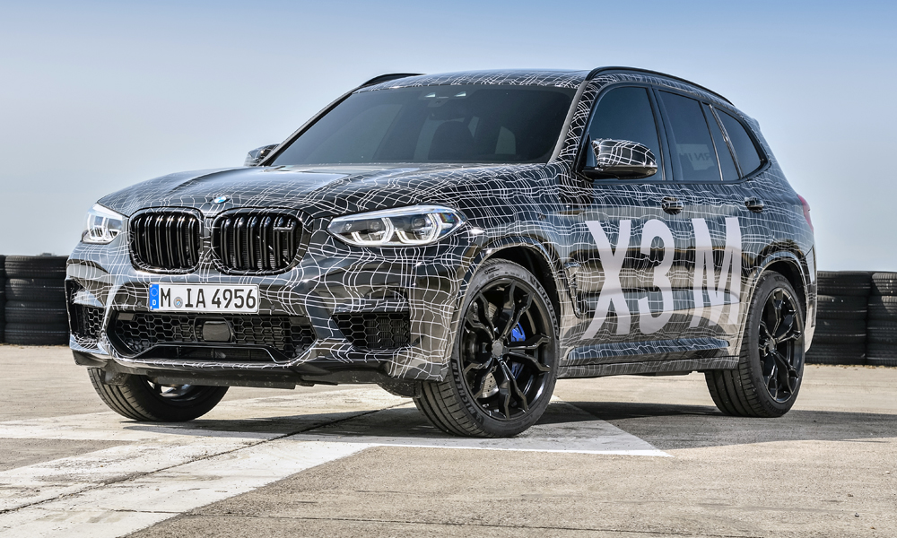 The X3 M will slot in above the X3 M40i.