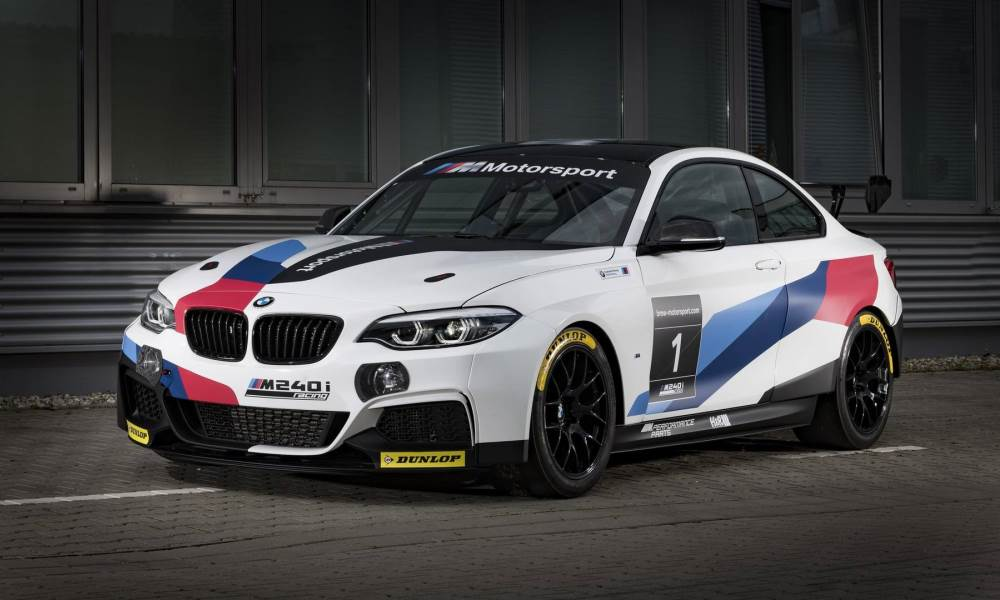 BMW has updates its VLN racing car to the M240i badge.