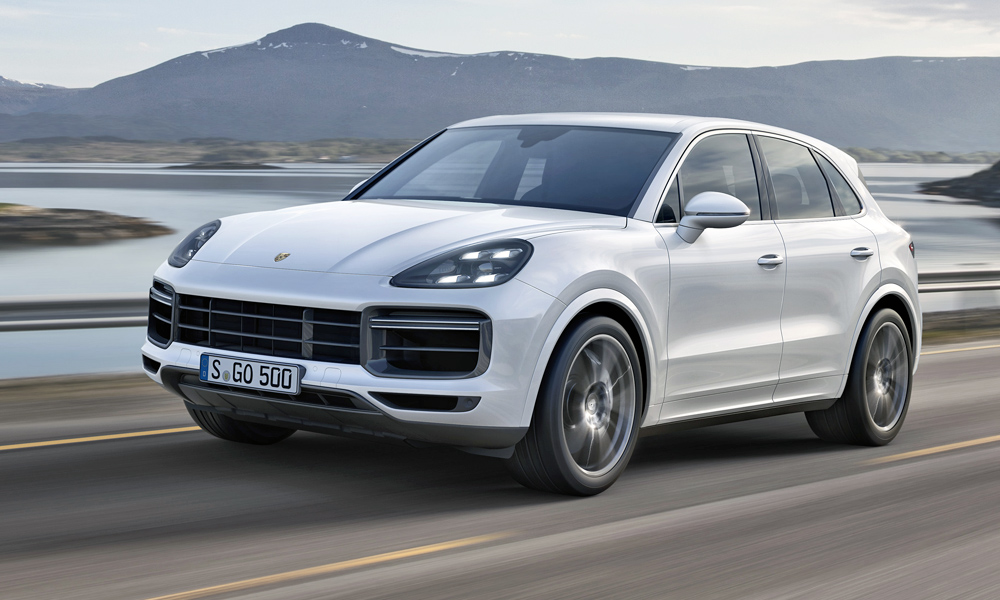 Front-end styling is similar to that of the second-generation Cayenne.