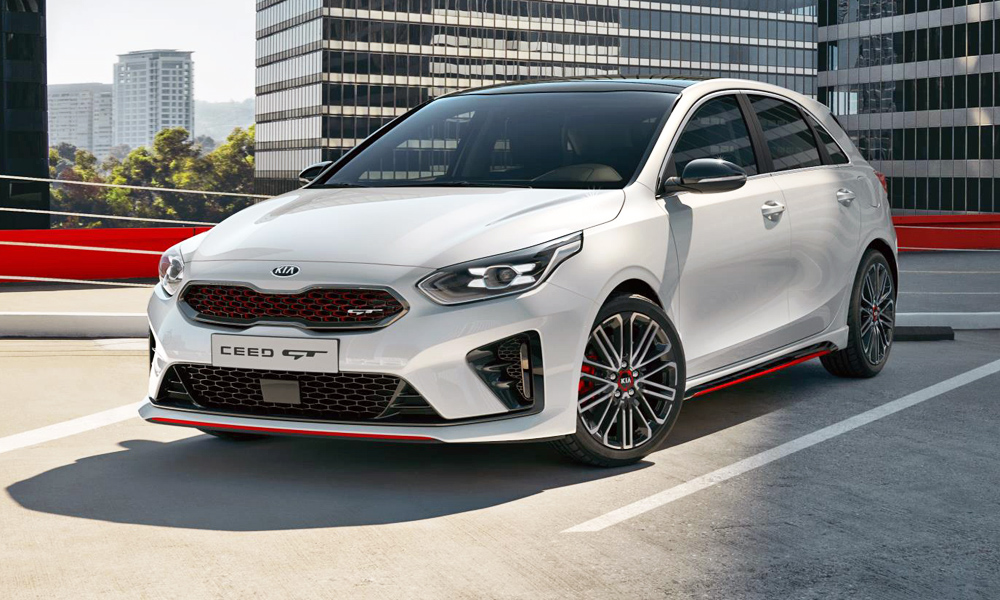 new kia ceed gt revealed as 150 kw 39 performance hatch. Black Bedroom Furniture Sets. Home Design Ideas