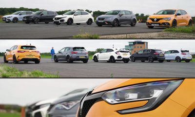 Hot hatch drag race