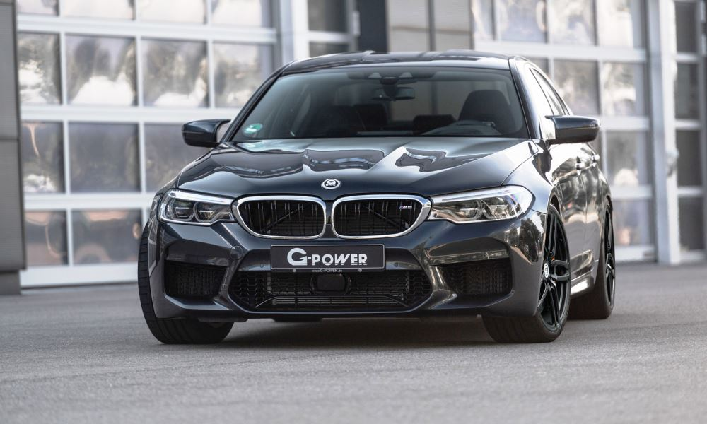 g power pushes new bmw m5 sedan to a whopping 588 kw. Black Bedroom Furniture Sets. Home Design Ideas