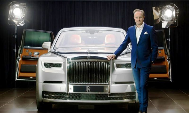 Giles Taylor and Rolls-Royce
