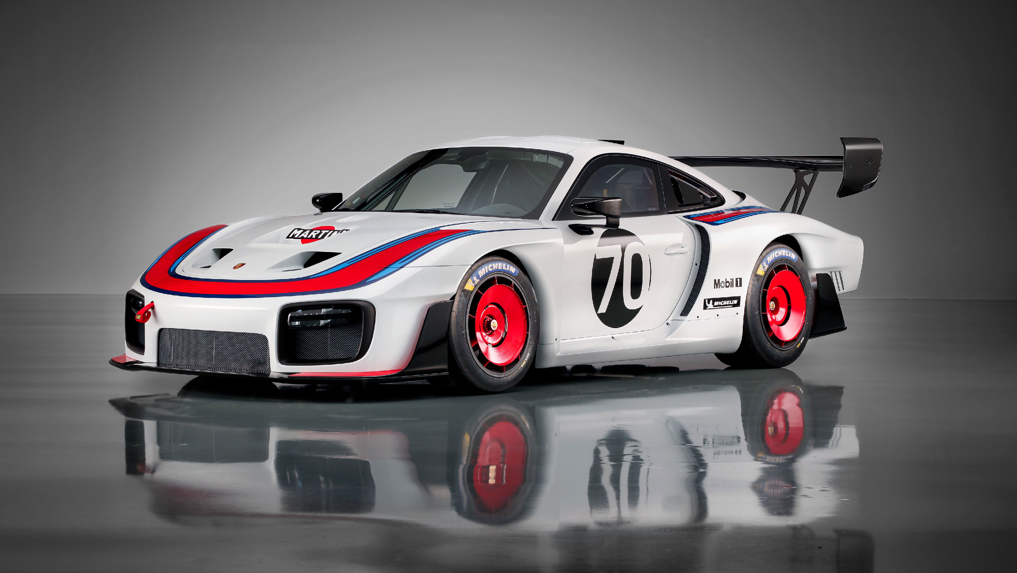 Celebrating its 70th anniversary, Porsche unveiled this new 935 as a 'birthday present to its fans'.