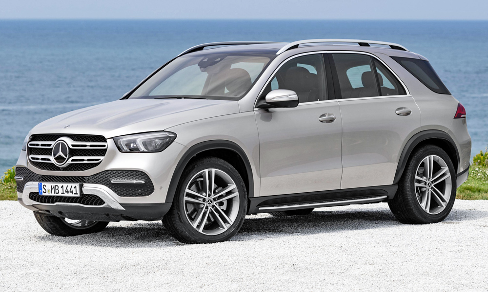 The new Mercedes-Benz GLE has been revealed!