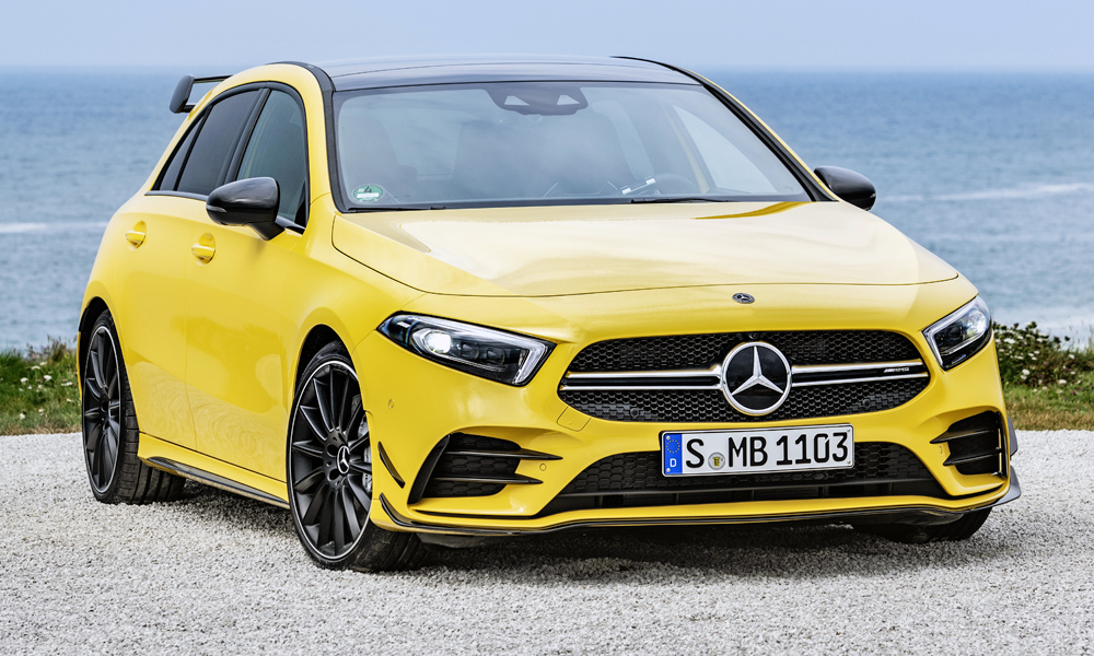 New Mercedes Amg A35 Revealed The Baby Amg Is Here Car
