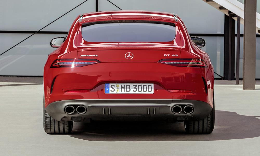 Other than the badge, the GT43 looks exactly like the GT53 from the outside.
