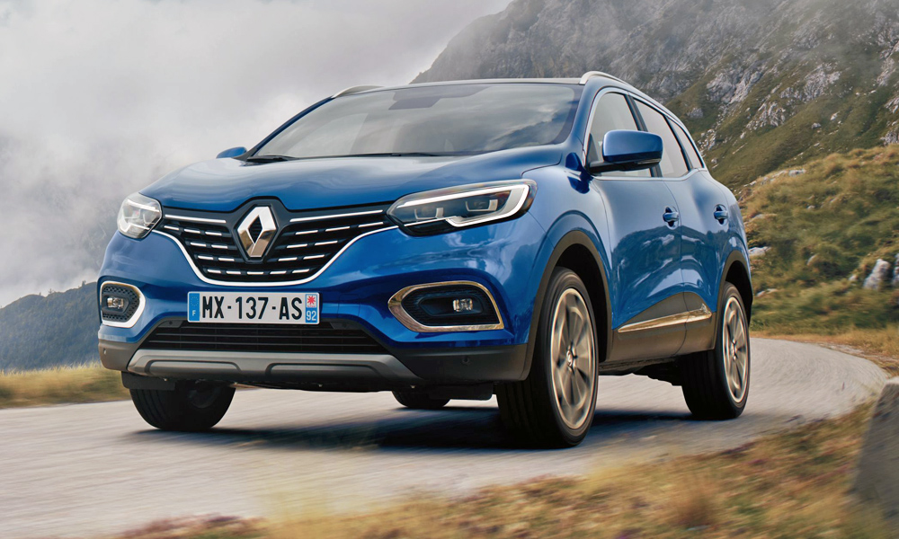 The facelifted Renault Kadjar has been revealed.