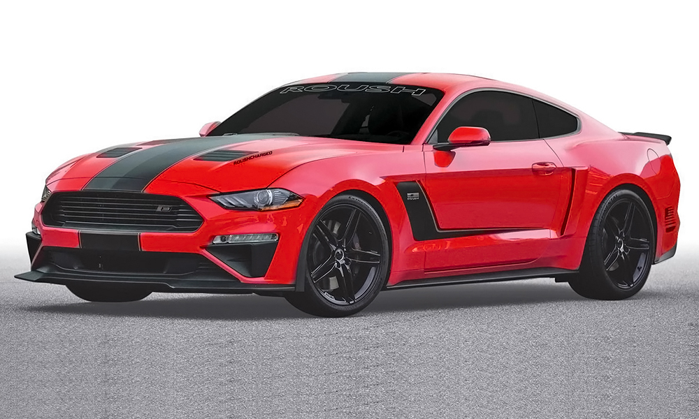 Roush unveils RS3 package for Mustang ... giving it 529 kW! - CAR magazine