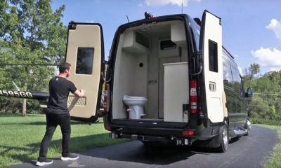 Mercedes-Benz Sprinter ... with a bathroom