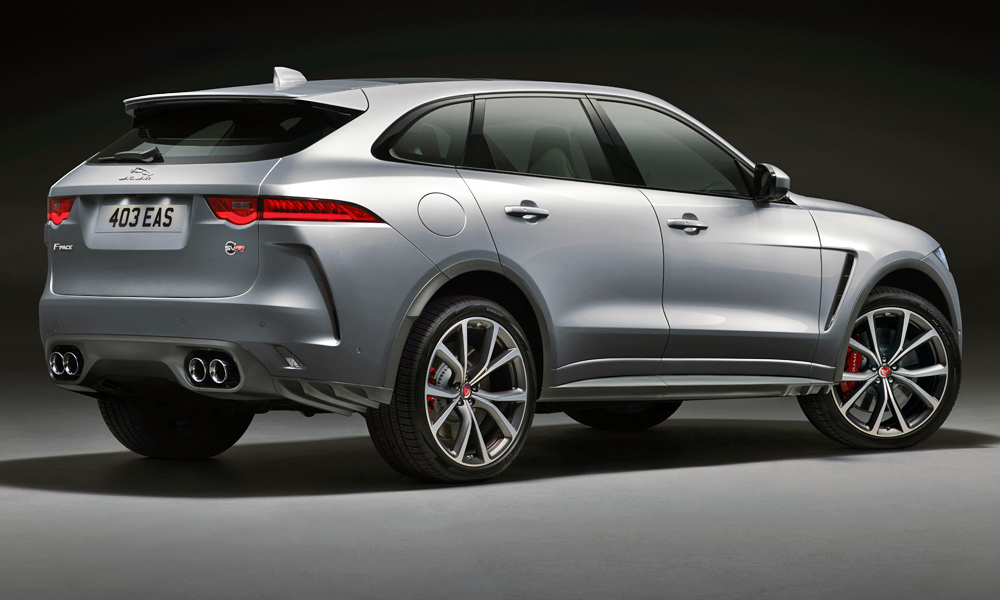 The Jaguar F-Pace SVR is due to arrive in SA in the first quarter of 2019.