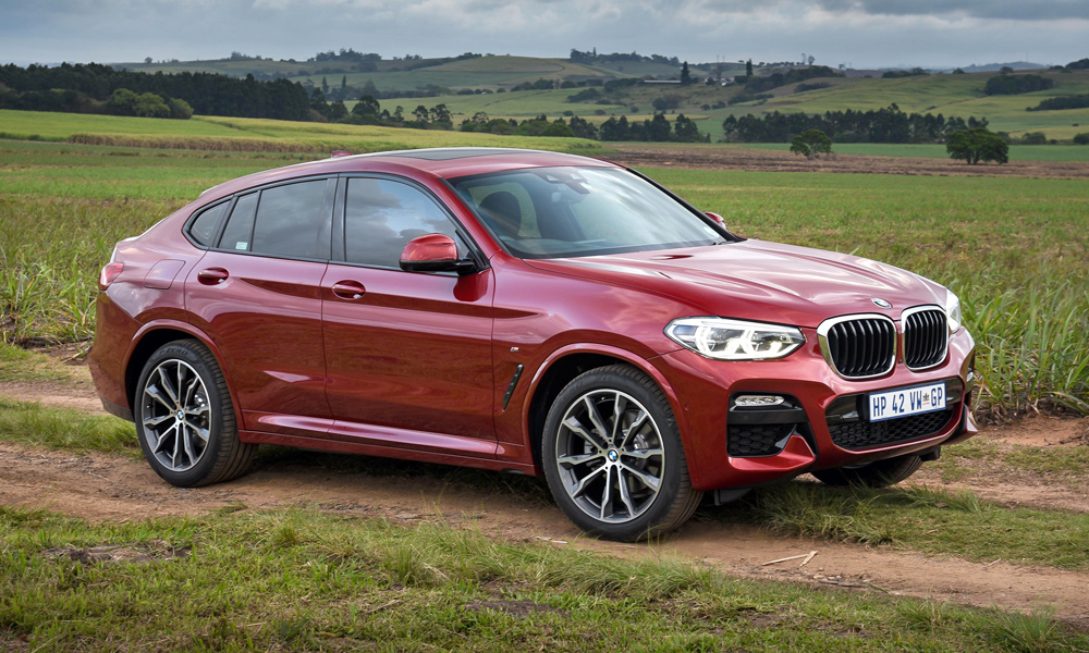 The new BMW X4 has arrived to renew its battle with the Mercedes-Benz GLC Coupé.