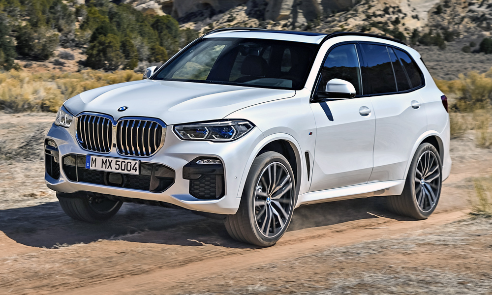 The new BMW X5 is due to arrive in South Africa.