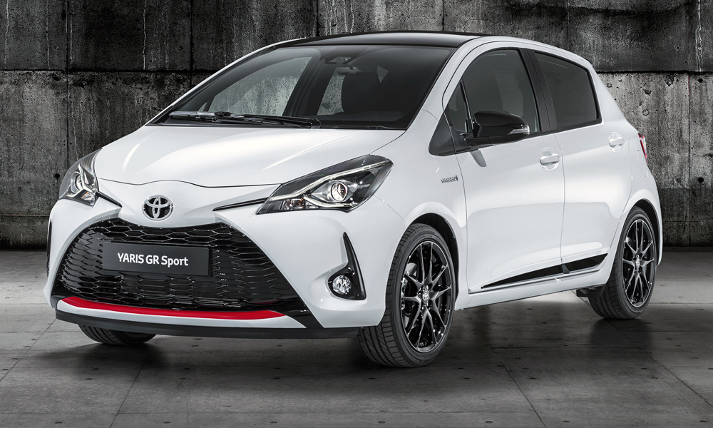 The Toyota Yaris GR Sport has been revealed.
