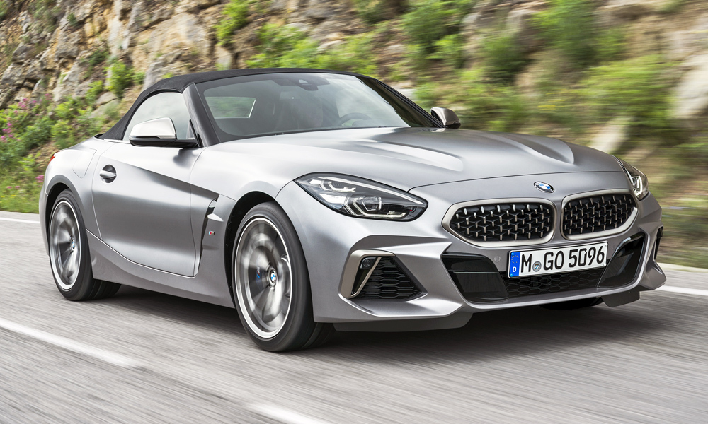 The BMW Z4 M40i will lead the range.