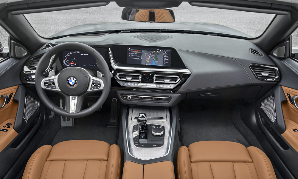 An eight-speed automatic transmission is standard across the range.