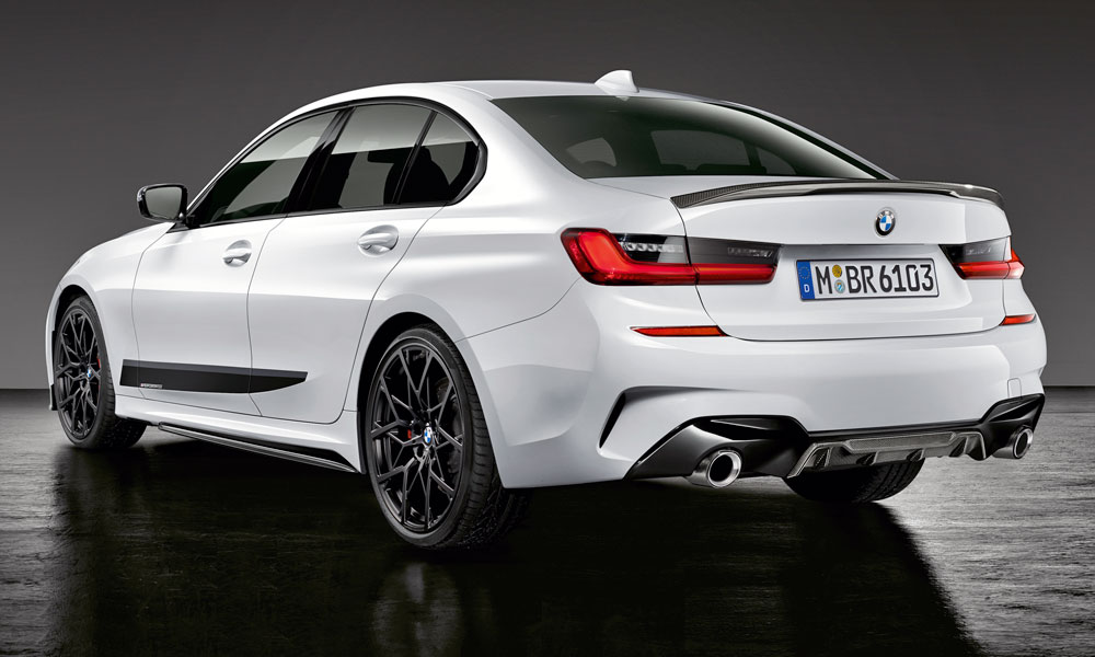 The new BMW 3 Series has already been lathered in M Performance parts.