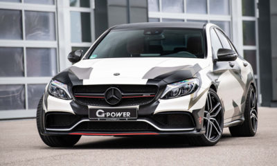 G-Power Mercedes-AMG C63 Sedan front