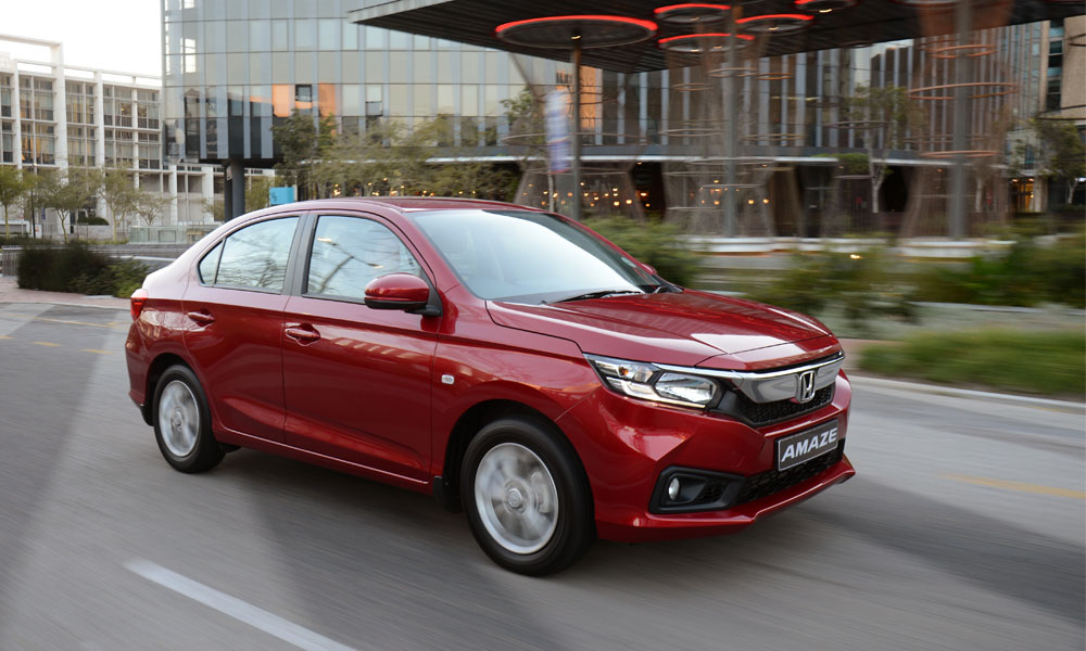 We drive the new Honda Amaze 1,2 Comfort in Cape Town.