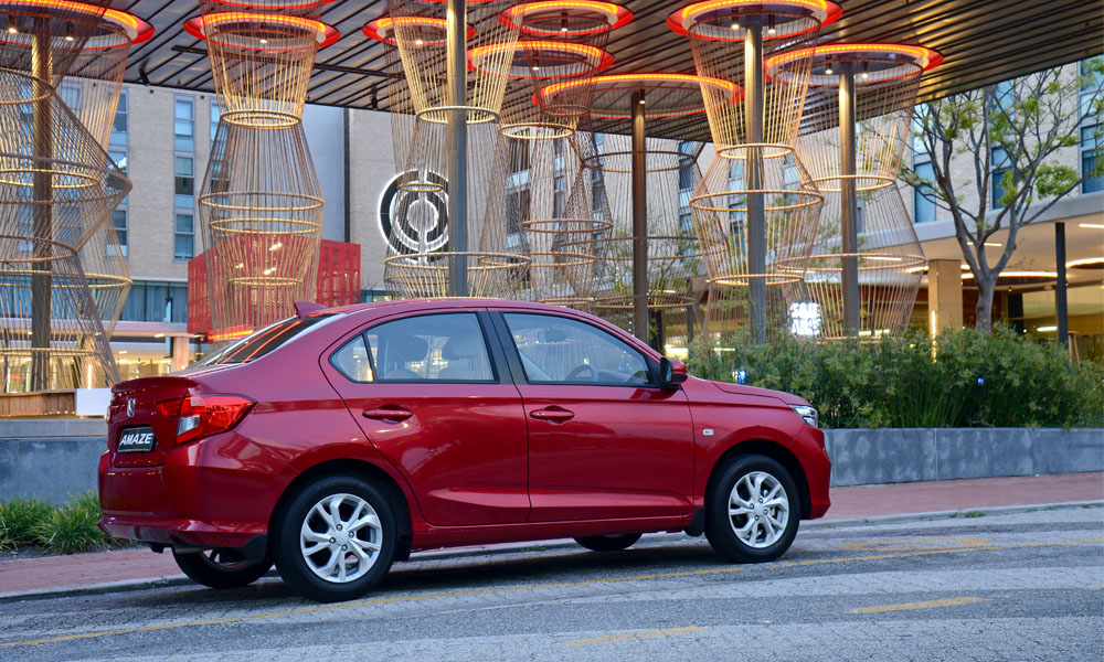 New Amaze gains 65 mm in its wheelbase compared with the previous model.