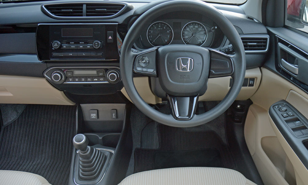 Neat interior offers impressive standard specification for the segment.