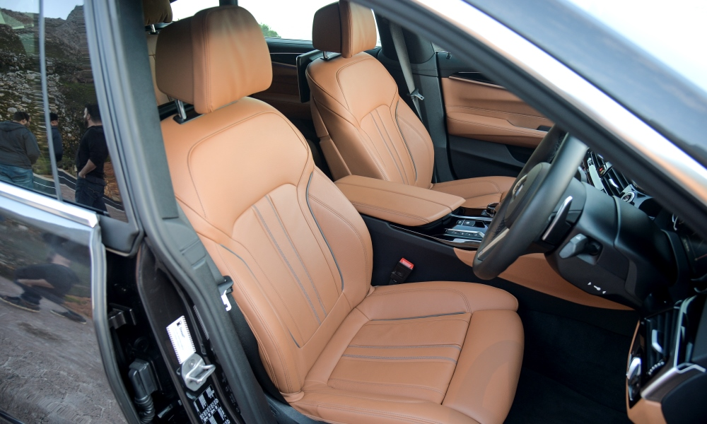 Comfort seats do exactly what they promise.