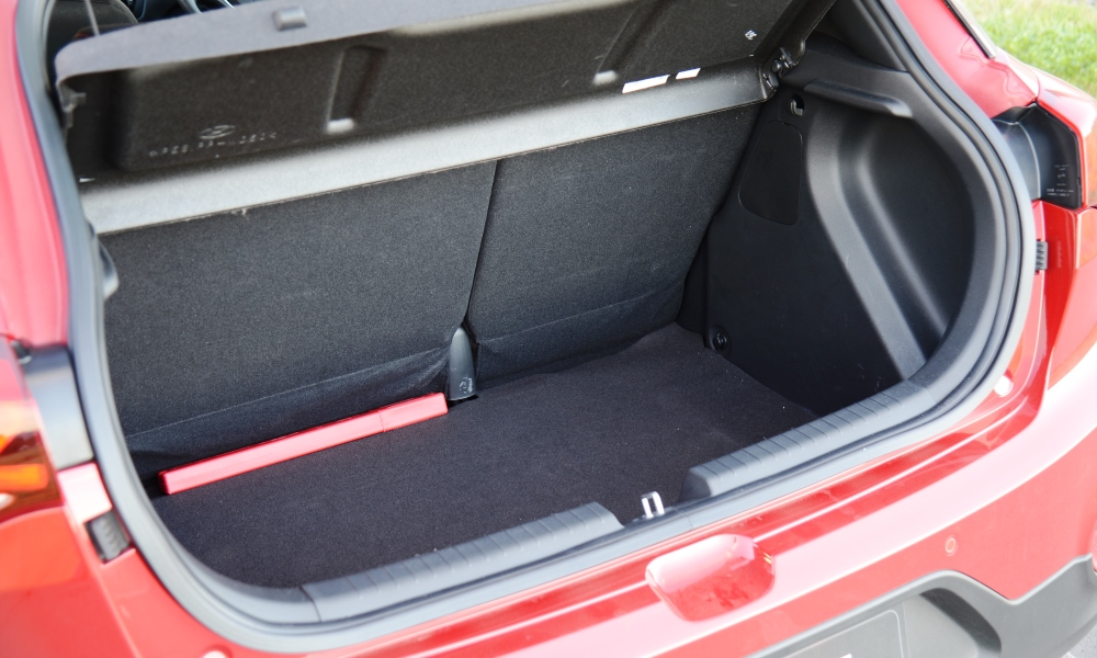 Boot space bests most of the i20's rivals.
