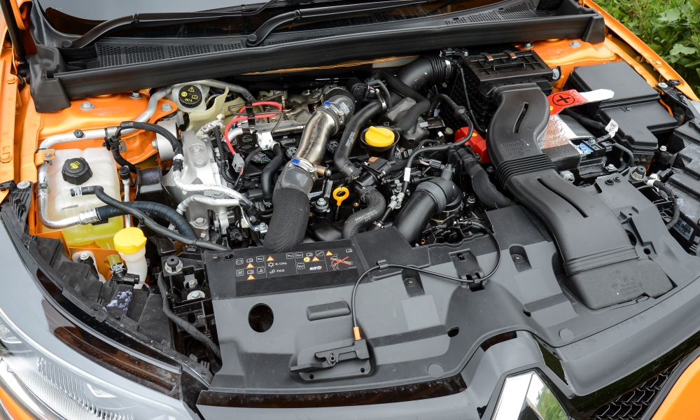 New 1,8-litre engine features twin-scroll turbocharging.