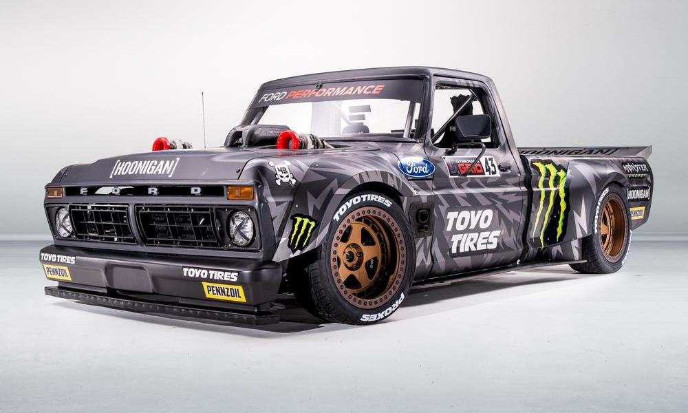 Meet Ken Block's crazy new (682 kW!) Ford F-150 Hoonitruck - CAR magazine