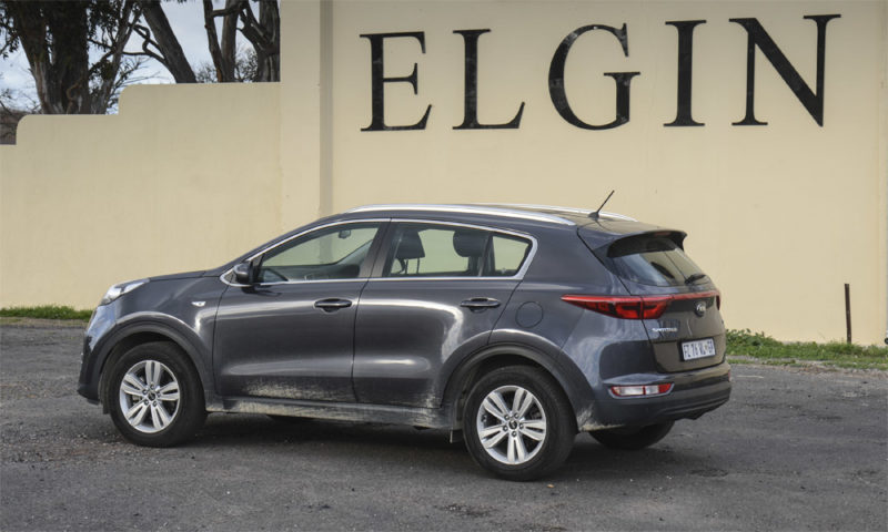 Kia Sportage 1,7 CRDi Ignite Plus rear