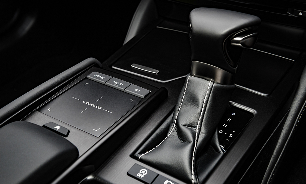 Lexus' divisive Remote Touch Interface trackpad makes another appearance and remains unintuitive to use.