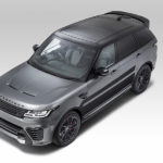 Overfinch Range Rover Sport aerial view
