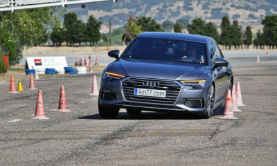 Audi A6 undergoes dreaded Moose Test