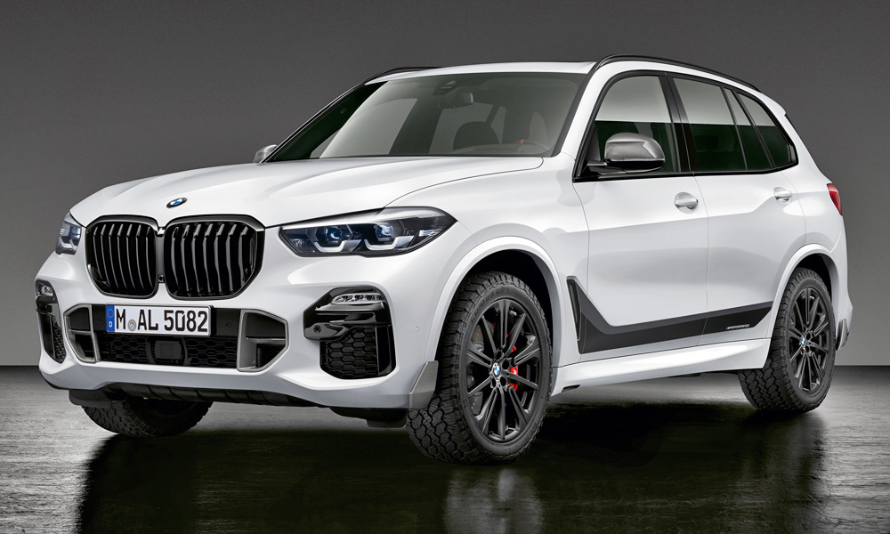 BMW has thrown a bunch of M Performance parts at its X5.