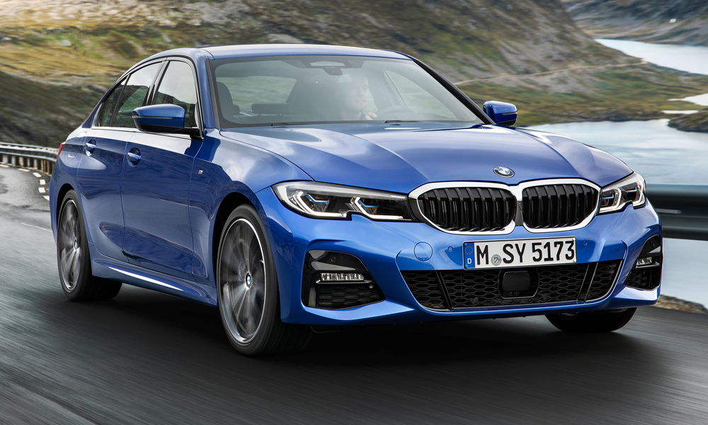 The new BMW 3 Series  has finally been revealed.