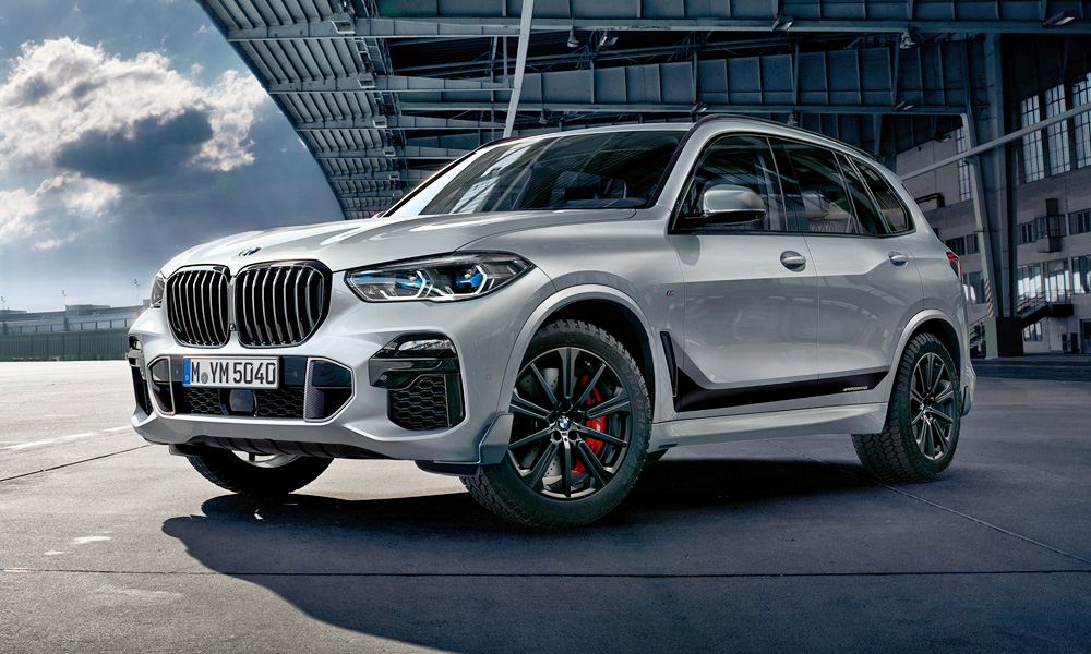 BMW X5 in M Performance Parts