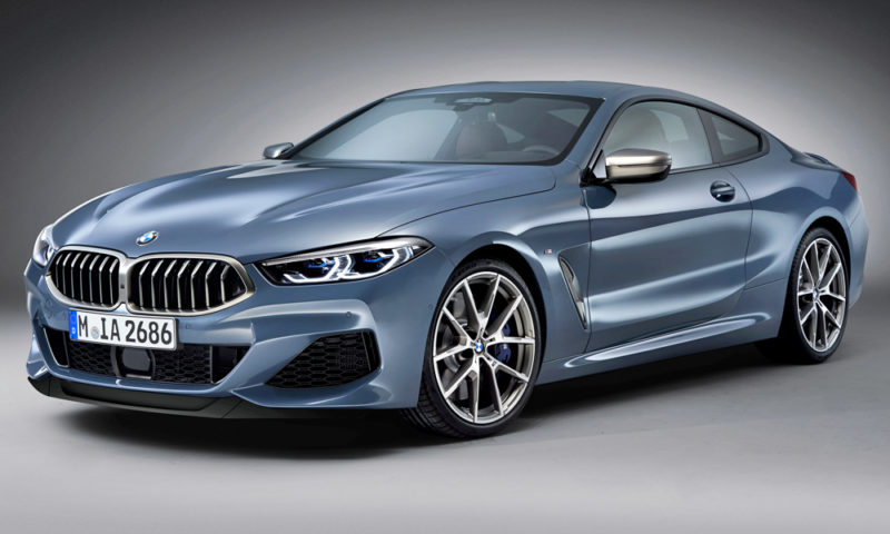 New BMW 8 Series