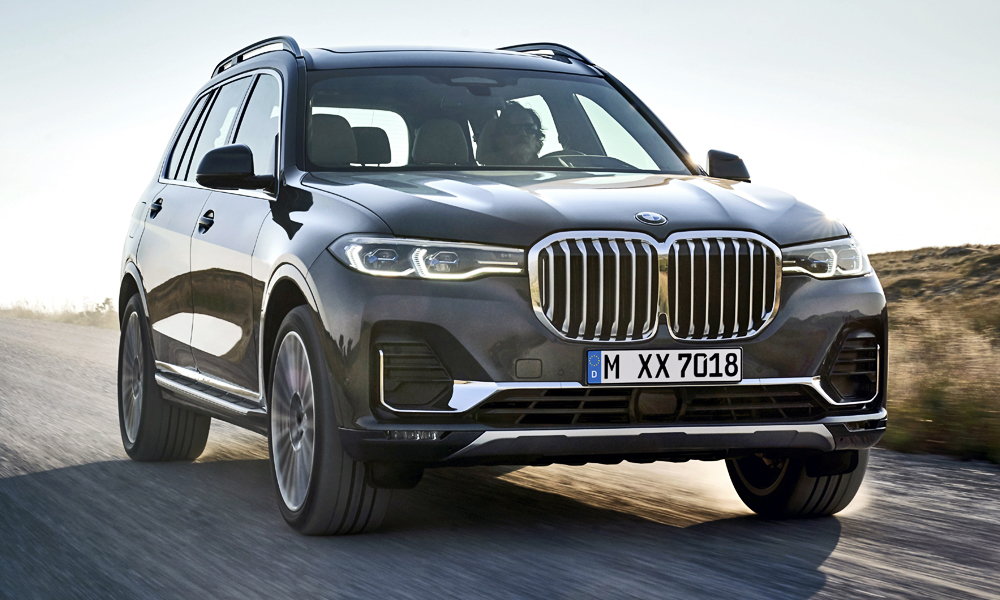 The new BMW X7 has been revealed.