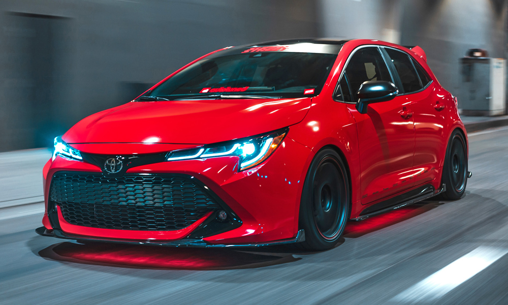 Toyota Unveils Modified Version Of New Corolla Hatchback Car Magazine