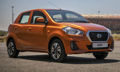 Updated Datsun Go to be offered in SA with ABS and dual airbags.