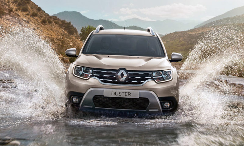 Renault's design boss says the Duster is 'a little bit like the Mustang for Ford'.