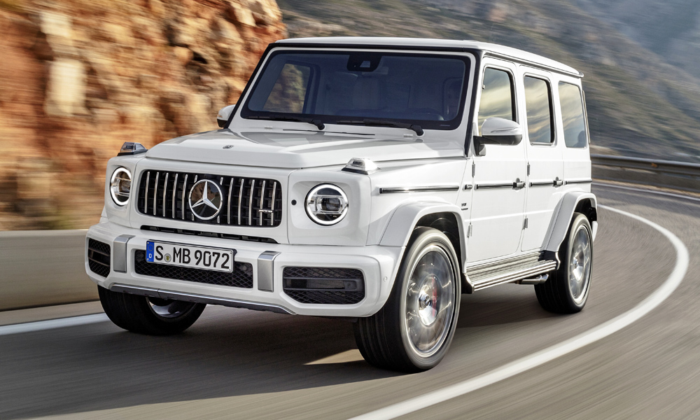 The new Mercedes-AMG G63 is set to launch in SA in November 2018.