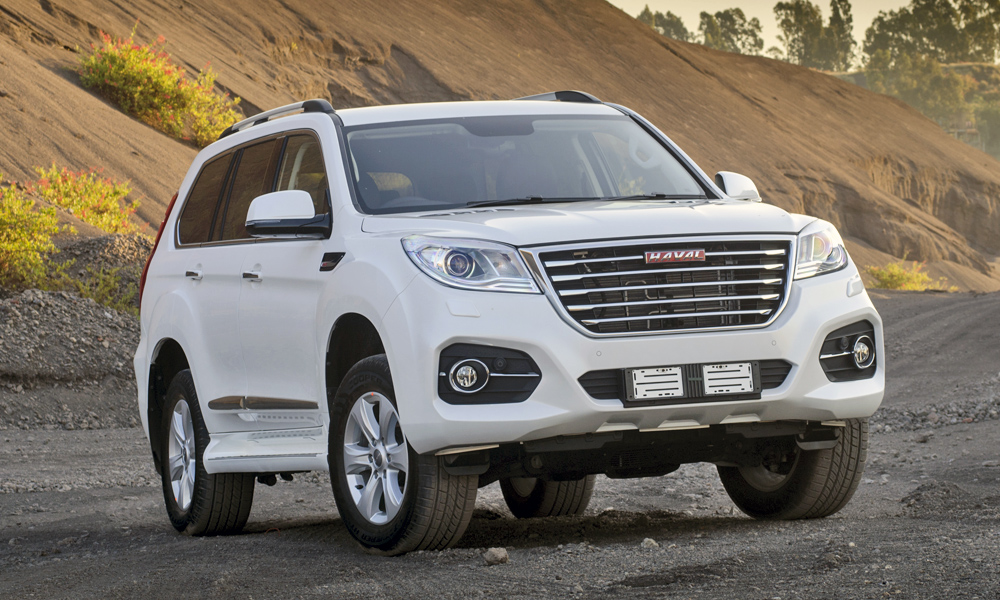 The Haval H9 is large and imposing.