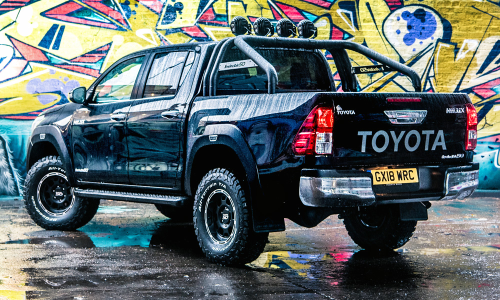Toyota and Arctic Trucks have created the new Hilux Invincible 50.