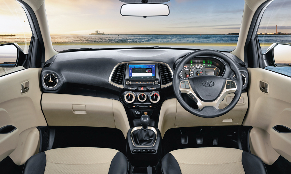The Indian-spec model features a seven-inch touchscreen.