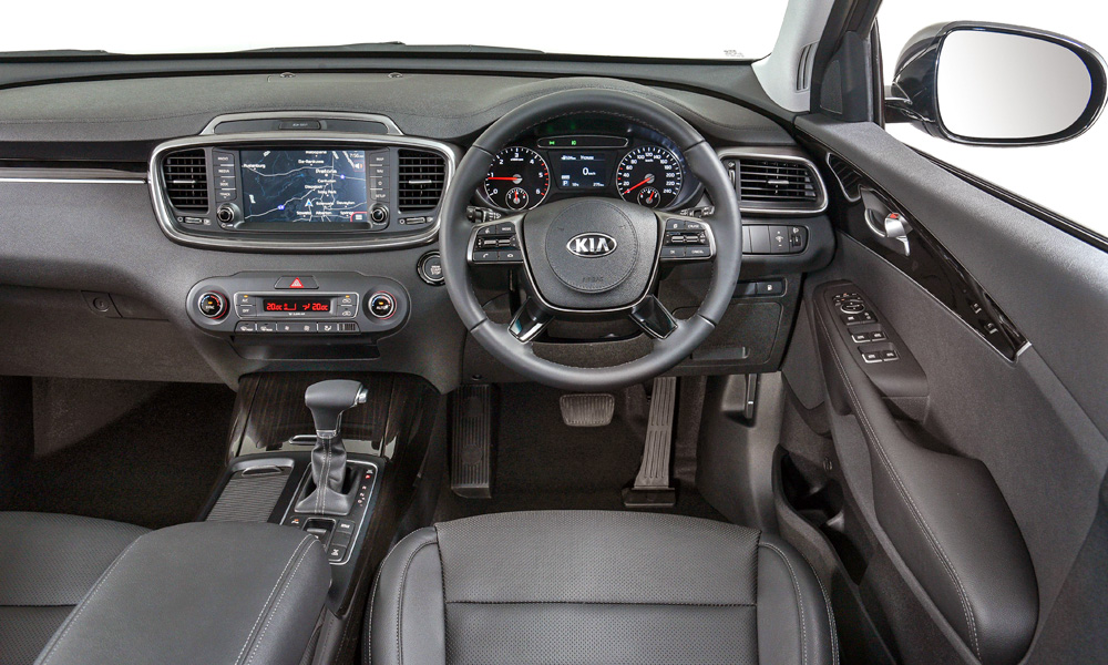 Note the new eight-inch infotainment screen.