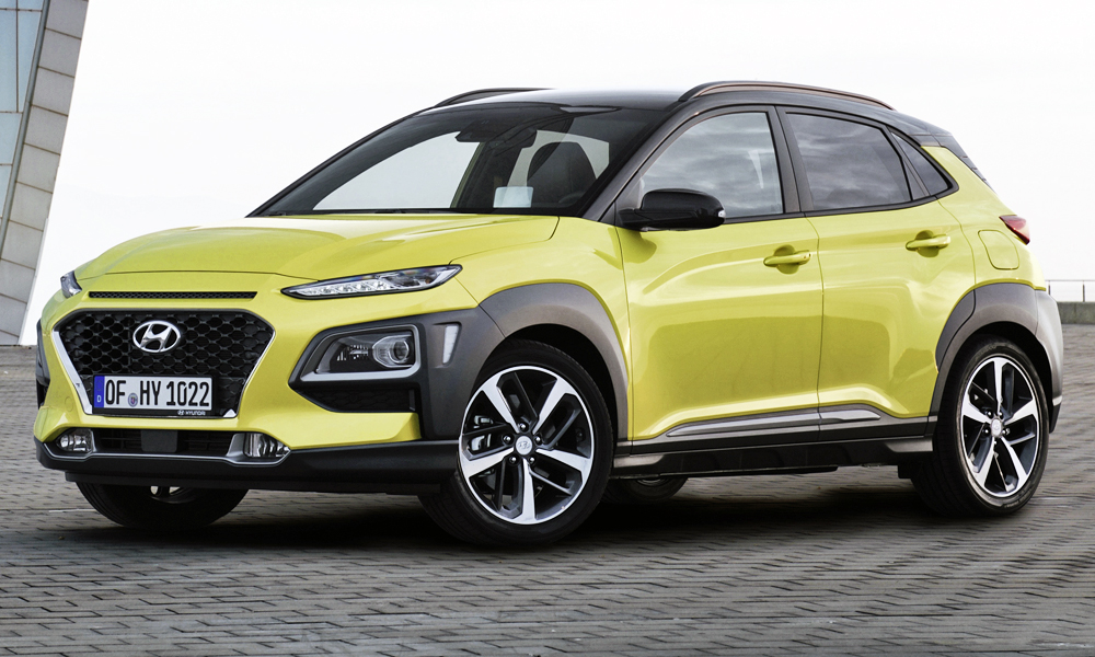 The new Hyundai Kona range will comprise two derivatives at launch.