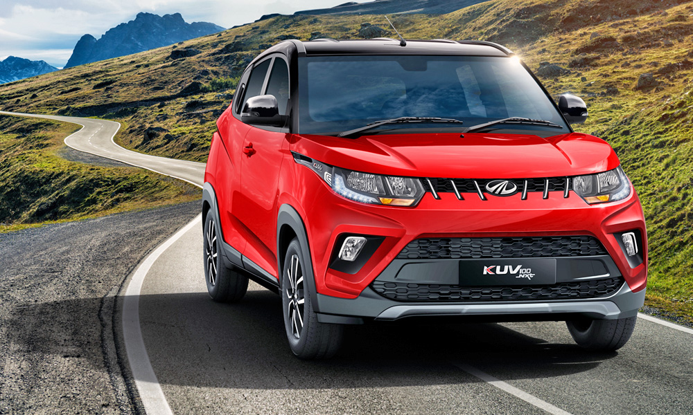 The Mahindra KUV100 has been updated (and its name gains the Nxt suffix).