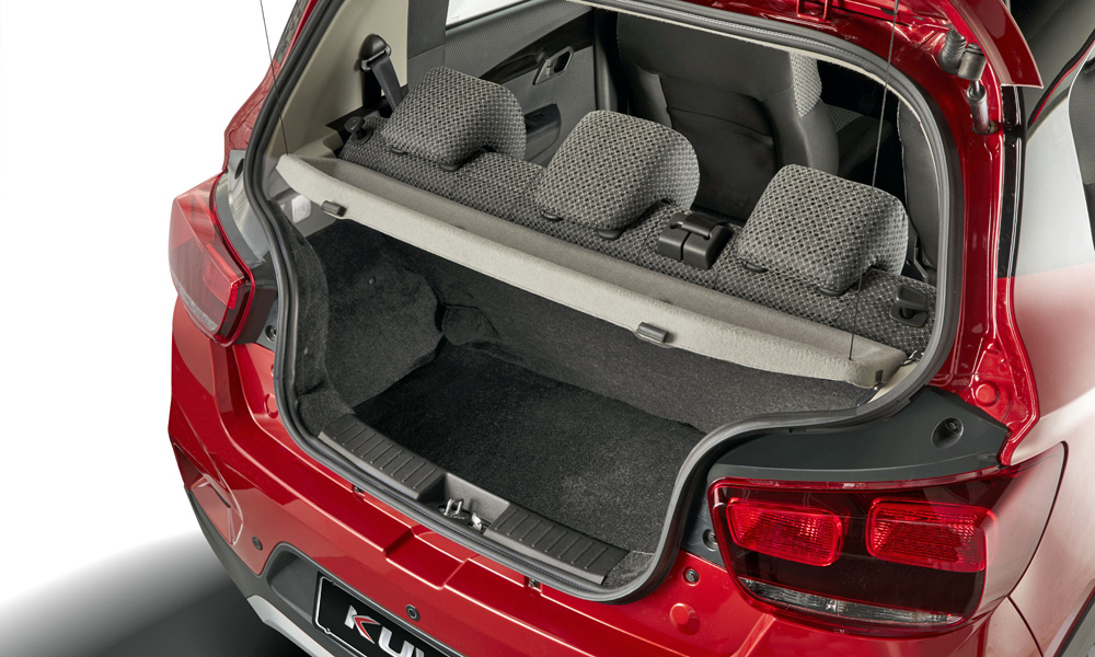 Boot space comes in at 128 litres, according to our measurements.