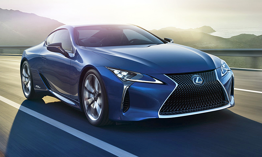 The Lexus LC500 Limited Edition is available in South Africa.